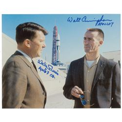 Wally Schirra and Walt Cunningham