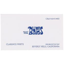 The Byrds: Clarence White