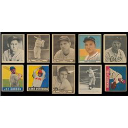 1939-48 Play Ball and Leaf Collection (143 cards)