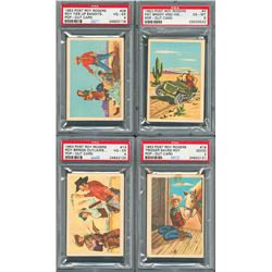 1950s Non Sport Card Collection with PSA Graded