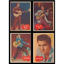 1956-1987 Topps Non Sports Collection with Complete Elvis Presley Set