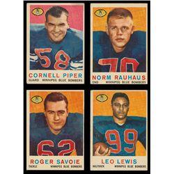 1959 Topps CFL Near Set (79/88)