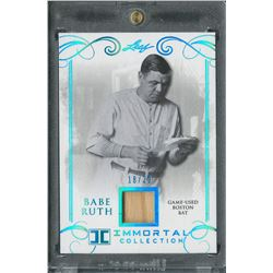 2017 Leaf Babe Ruth Immortals Game Used Bat Card (18/20)