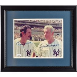 Joe DiMaggio and Billy Martin