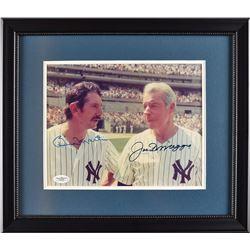 Joe DiMaggio and Billy Martin