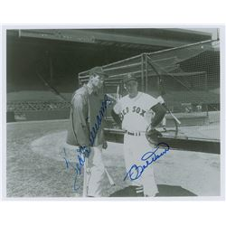 Joe DiMaggio and Ted Williams
