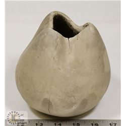 56) MARY BORGSTROM STONE POLISHED PINCHED TOP POT