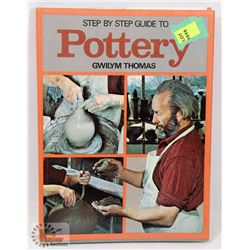 108) STEP BY STEP POTTERY BOOK SIGNED BY MARY