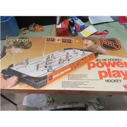 POWER PLAY HOCKEY (COLECO) *NHL*