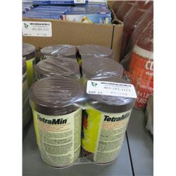 TETRAO TETRAMIN TROPICAL FLAKES FISH FOOD 6X62G