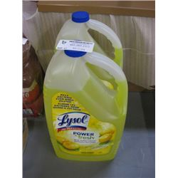 LYSOL POWER AND FRESH MULTI-SURFACE CLEANER 2 X 4.26L