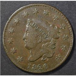 1826 LARGE CENT FINE
