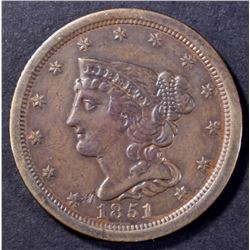 1851 HALF CENT, AU