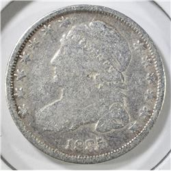 1835 BUST DIME, VG