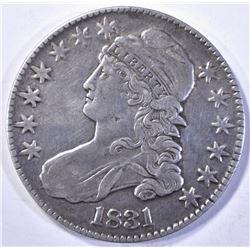 1831 CAPPED BUST HALF DOLLAR  XF