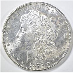 1878 7TF REV OF 78 MORGAN DOLLAR CH BU