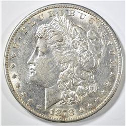 1878-S MORGAN DOLLAR, BU