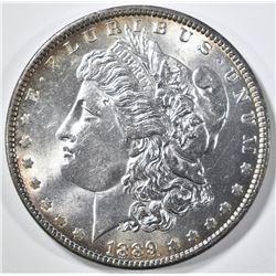 1889 MORGAN DOLLAR, CH/GEM BU