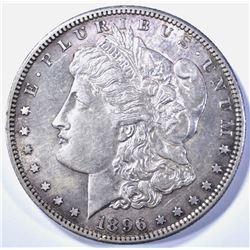 1896-S MORGAN DOLLAR   AU  KEY DATE