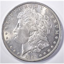1884 MORGAN DOLLAR CH/GEM BU