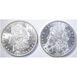 2-1884-O CH BU MORGAN DOLLARS