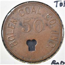 BOLEN COAL CO TOKEN DAYTON OH
