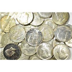 $15.00 FACE VALUE 40% SILVER KENNEDY HALVES