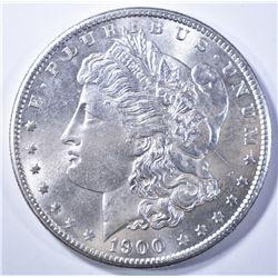 1900-S MORGAN DOLLAR   GEM BU