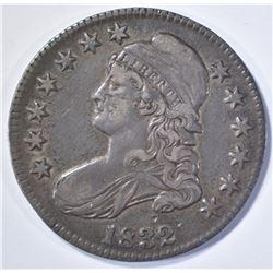 1832 BUST HALF DOLLAR, XF a little dark
