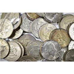 30-40% SILVER KENNEDY HALF DOLLARS