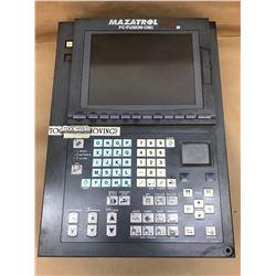 Mazatrol 640 Control Panel w/FCA635MNY-NF Numerical Control Unit and FCU6-HD242-3 HDD Unit