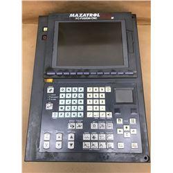 Mazatrol 640 Control Panel w/FCA635MNY-ND Numerical Control Unit and FCU6-HD242-3 HDD Unit