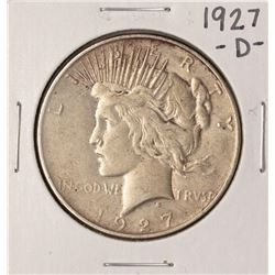 1927-D $1 Peace Silver Dollar Coin