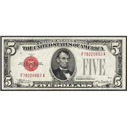 1928C $5 Legal Tender Note