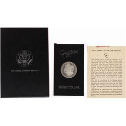 1882-CC $1 Morgan Silver Dollar Coin GSA Hoard w/ Box & COA