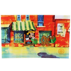Mr. Mouse Takes A Trip by The Walt Disney Company Limited Edition Serigraph