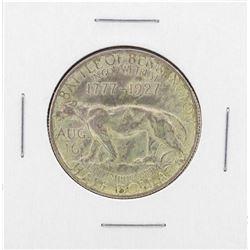 1927 Vermont Sesquicentennial Commemorative Half Dollar Coin