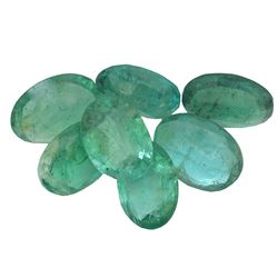 4.41 ctw Oval Mixed Emerald Parcel