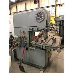 DoAll MP 20 Vertical Band Saw *VIDEO*