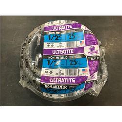 "NEW Ultratite 1/2"" 25ft Liquidtight Flexible Conduit"
