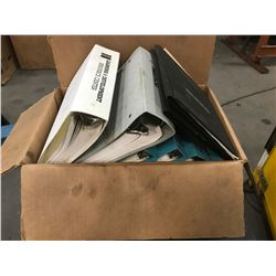 Lot of Misc. Hurco Manuals and Discs *See Photos*