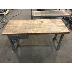 "Work Table 60"" x 24.5"" x 34"" *See Photos*"