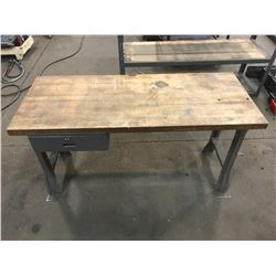 "Work Table 60"" x 24.5"" x 34"" *See Photos*"