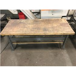 "Work Table 72"" x 30"" x 34"" *See Pictures*"