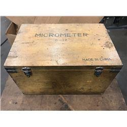 "0-12"" Micrometer Set *See Photos*"