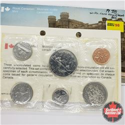 Canada Year Set : 1978 (Note 50¢ Round Bead)
