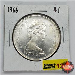 Canada One Dollar 1966