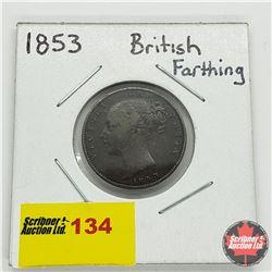 British Farthing 1853