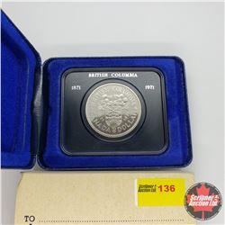 Canada One Dollar 1971