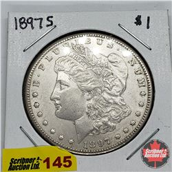 US Morgan Dollar 1897S